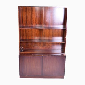 Mid-Century Danish Rosewood Bookcase from Omann Jun