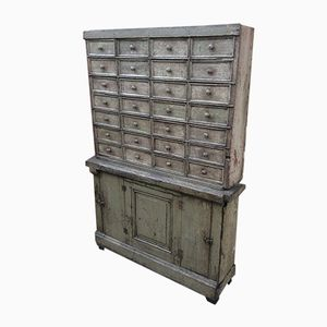 Old Industrial Workshop Cabinet, 1930s