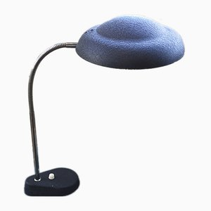 Flexible schwarze Vintage Tischlampe