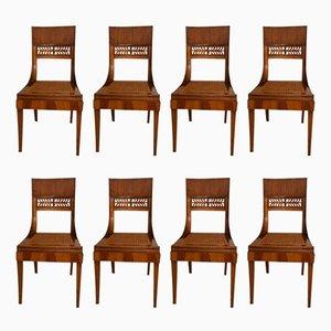 Chaises d'Appoint Antiques, Set de 8