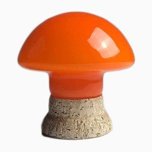 Lámpara de mesa Mushroom era espacial, años 70