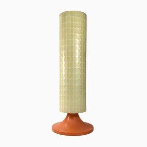 Lámpara de pie Cocoon alemana era espacial de Goldkant Leuchten, años 70