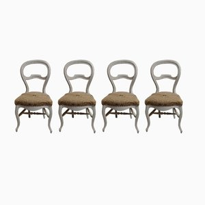 Antique Provencal Chairs, Set of 4