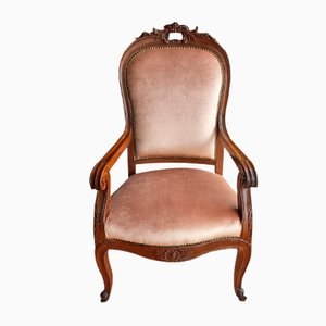 Antique Carlo X Armchair