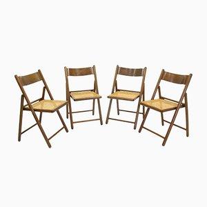 Sedie pieghevoli, anni '80, set di 4