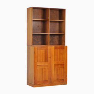 Vintage Cabinet & Bookcase Set by Mogens Koch for Rud. Rasmussen