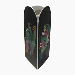 Vaso in ceramica di Marcello Morandini per Rosenthal, anni '80