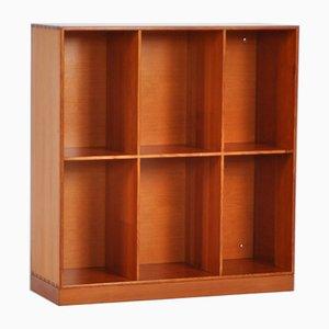 Librería vintage de pino de Oregón de Mogens Koch para Rud. Rasmussen