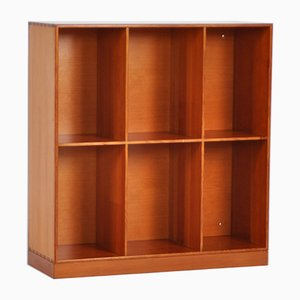Vintage Oregon Pine Bookcase by Mogens Koch for Rud. Rasmussen