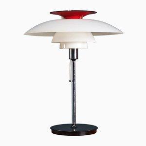 Lámpara de mesa PH 80 de Poul Henningsen para Louis Poulsen, años 70