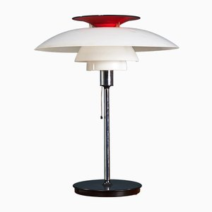 Lampe de Bureau PH 80 par Poul Henningsen pour Louis Poulsen, 1970s