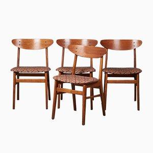 Chaises de Farstrup, 1960s, Set de 4