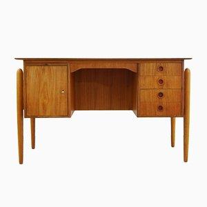 Vintage Pine Veneer Desk, 1960s