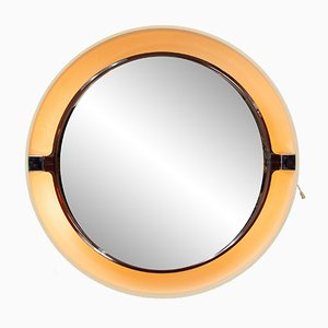 Vintage Backlit Mirror from Allibert, 1970s