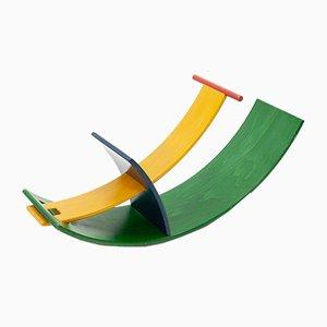 Moderne Vintage Wippe aus Schichtholz von Wolfgang Rebentisch für Stokke, 1993