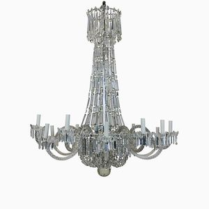 Antique Regency Waterfall Chandelier, 1820s