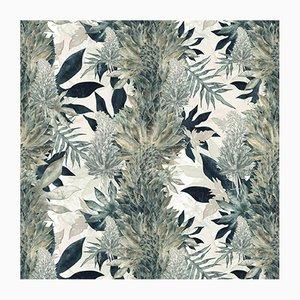 Papier Peint Kimolia Paradise Vert par 17 Patterns