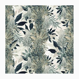 Paradise Green Kimolia Wall Covering by 17 Patterns