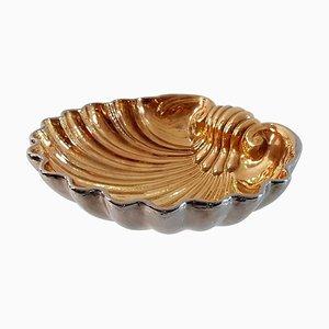 Grande Coupe Coquillage Vintage en Céramique de San Marco