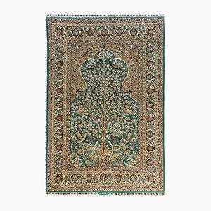 Vintage Turkish Silk Istanbul Rug