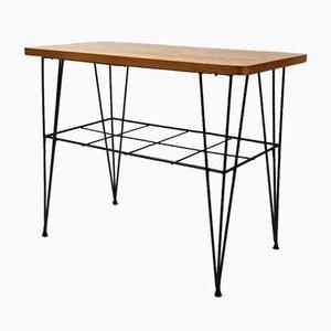 Vintage Swedish Teak Side Table, 1960s