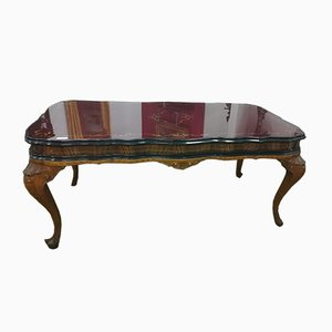 Vintage Red Onyx Topped Table