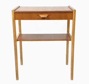 Mid-Century Nachttisch aus Teak, 1960er
