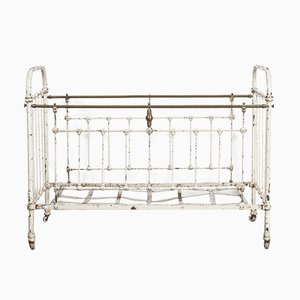 Antique French Iron Crib