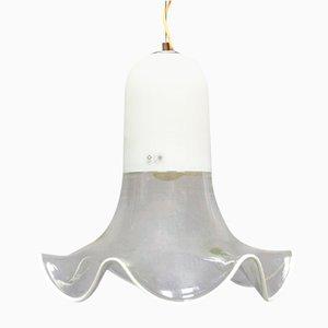 Lámpara colgante italiana vintage de Roberto Pamio & Renato Toso para Leucos, años 60