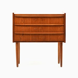 Small Danish Teak Wooden Chest of Drawers, 1960s