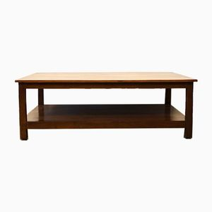 Grande Table Basse en Bois, 1970s