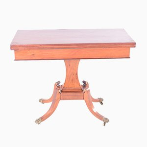 Vintage Spieltisch aus Mahagoni