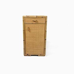 Französischer Schrank aus Bambus, 1960er