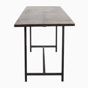 Modernist Spanish Fruitwood Table, 1930s
