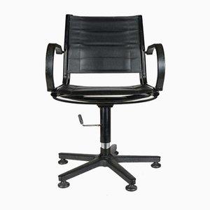 Chaise de Bureau Noire, 1960s