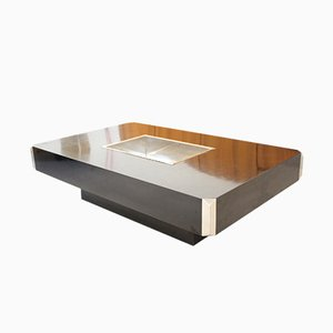 Alveo Coffee Table by Willy Rizzo for Mario Sabot, 1970s