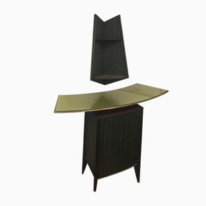Mid-Century Bar Counter and Shelf by Cappelletti, Camagni, & Porro