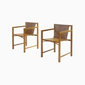 Slat Chairs by Ruud-Jan Kokke for 't Spectrum, 1980s, Set of 2