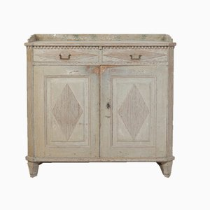 18th-Century Gustavian Swedish Cabinet