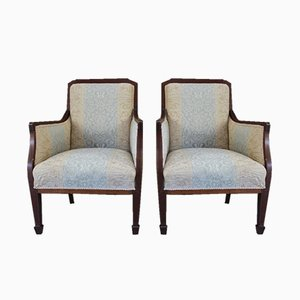 Antique Edwardian Chairs, Set of 2