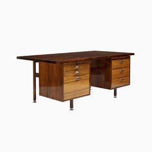 Schreibtisch aus Palisander von Jens Risom, 1960er