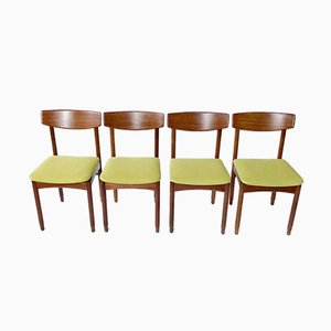 Italian Chairs, 1960s, Set of 4
