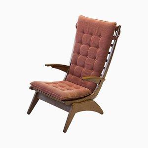 Moderner niederländischer Sessel von Jan den Drijver, 1950er