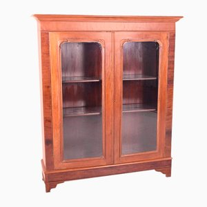 Antique English Mahogany Showcase