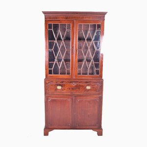 Antique English Secretaire with Bookcase