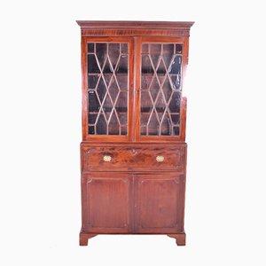Antique English Secretaire with Bookcase