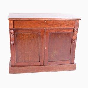 Antique Mahogany English Sideboard