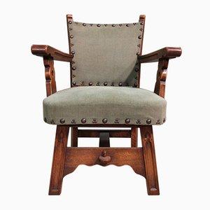 Vintage Sessel mit Gestell aus Eiche, 2er Set