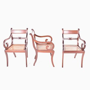 Antique Armchairs, Set of 3