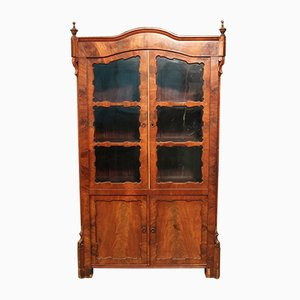 Antique Dutch Mahogany Display Case